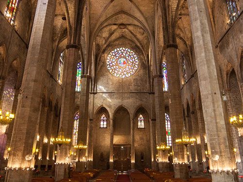 imagen de Basílica de Santa Maria del Mar