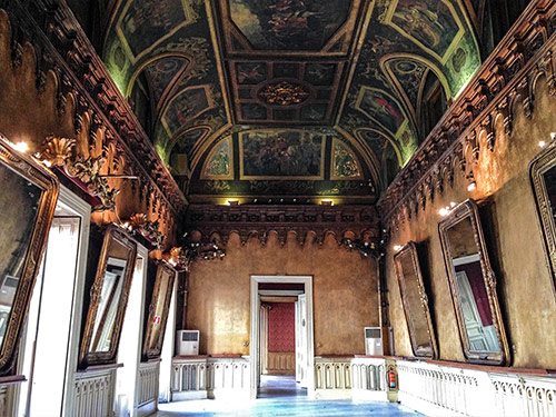 imagen de sala en Palacio de Gaviria